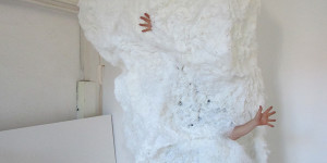 the cloud, 300cm, installation, 2013