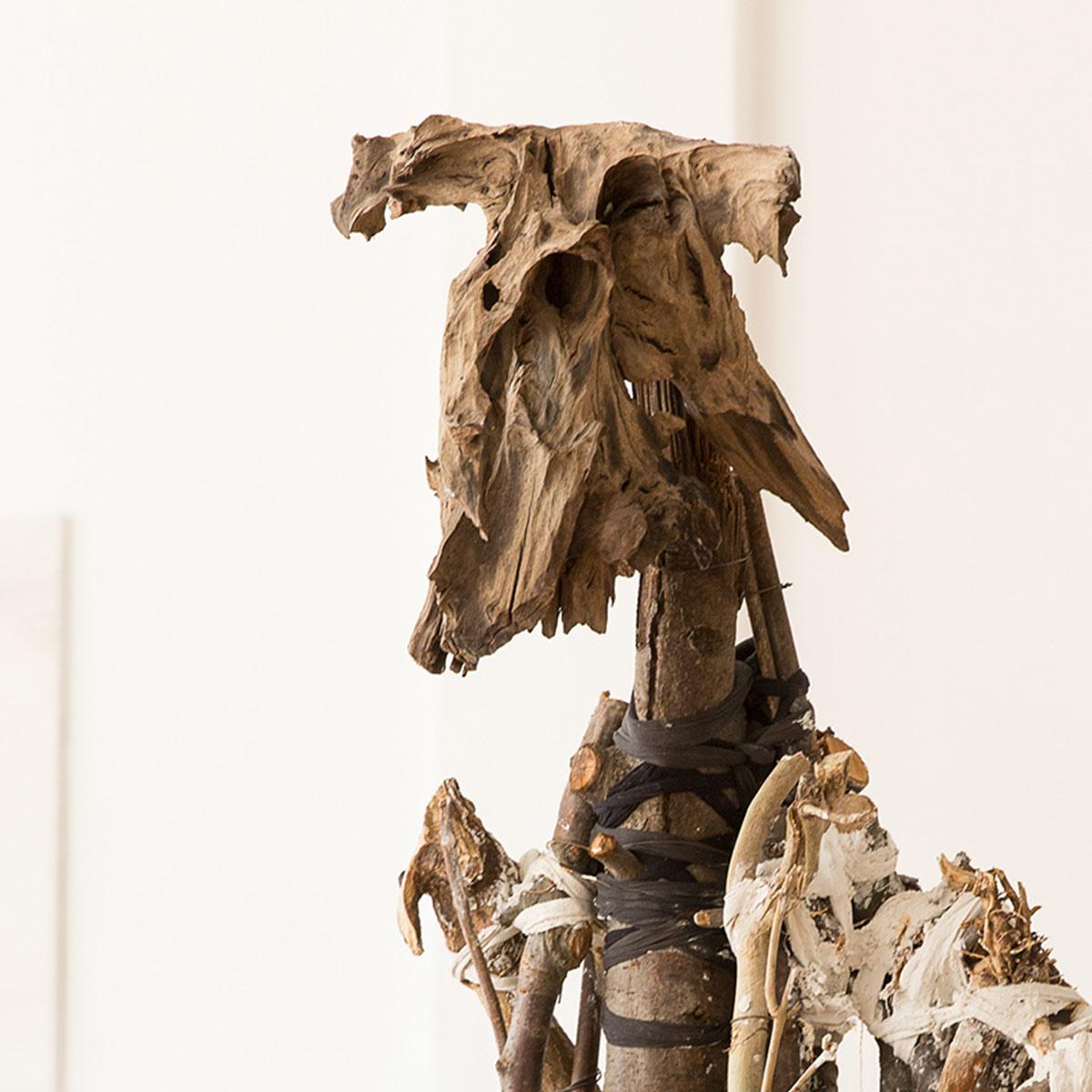 Minotaurus, Körpergebilde, Bianka Mieskes, 2014, Foto Walter Wetzler
