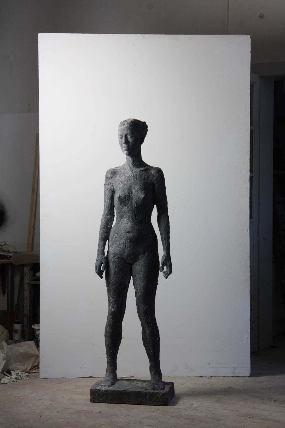 Camilla, 185cm, concrete, 2010