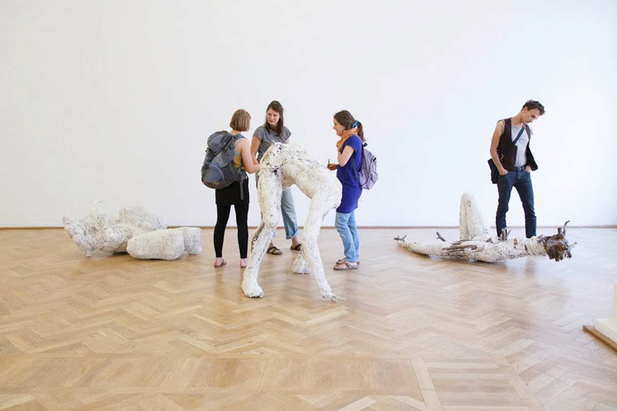 Körpergebilde, Bianka Mieskes, 2014, Burg Galerie Volkspark, Foto: Armen Asratyan