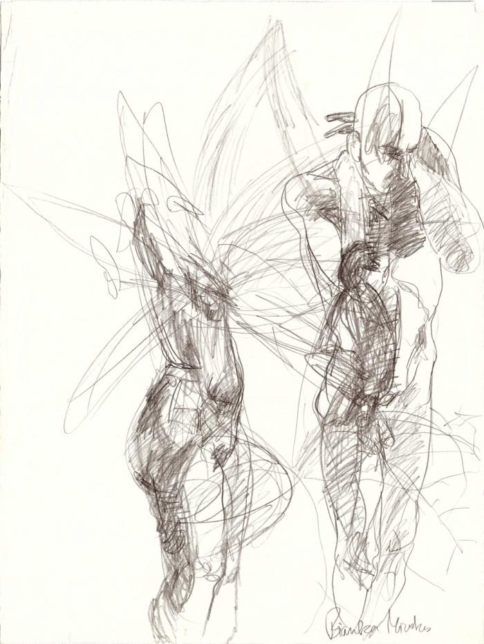 metamorphoses, pencil on paper, 63cm x 48cm