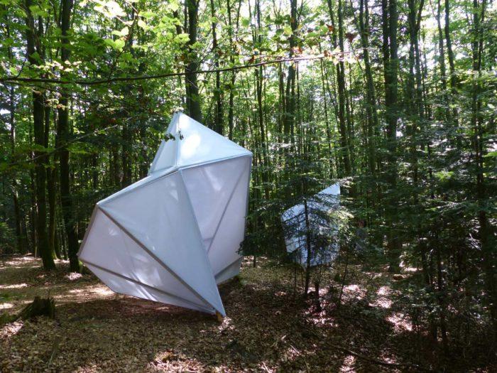 Waldkristall, Bianka Mieskes, 2017, Erfahrungsfeld der Sinne, Laufenmühle, Welzheim